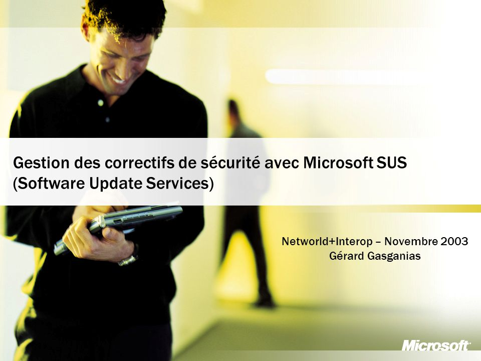 Networld+Interop – Novembre 2003