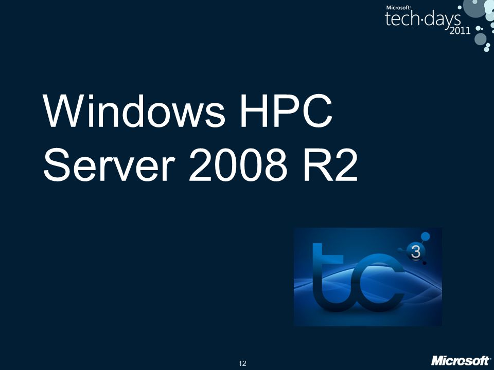 Windows HPC Server 2008 R2