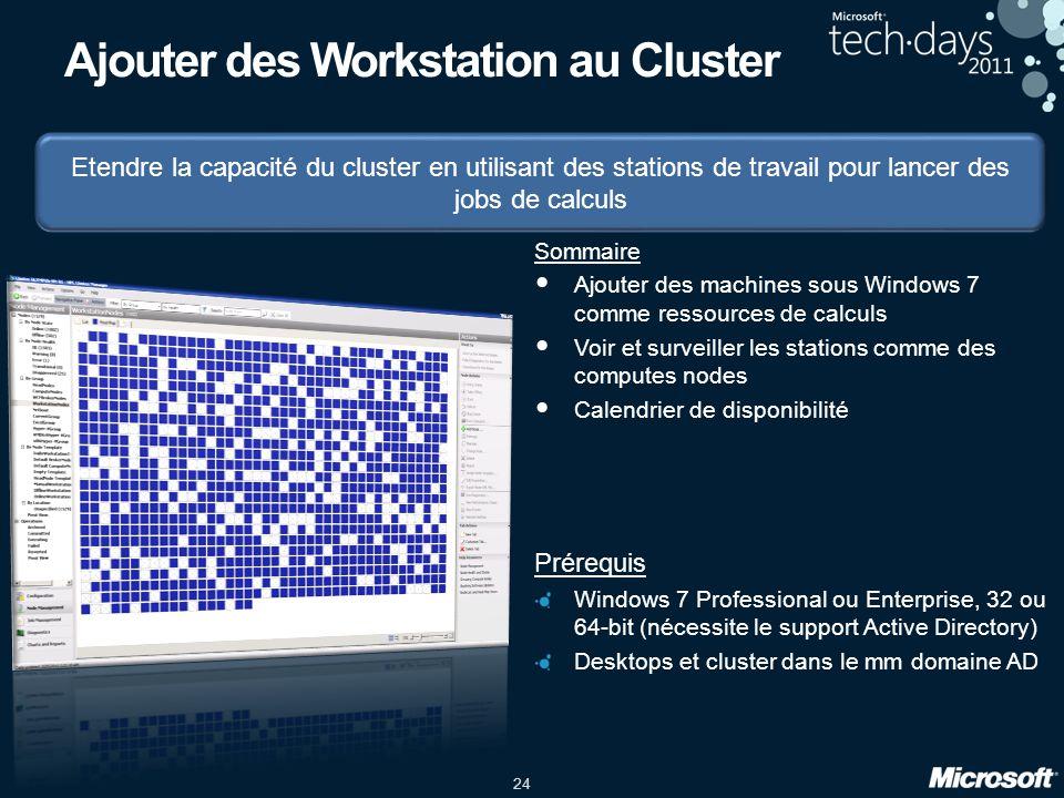 Ajouter des Workstation au Cluster