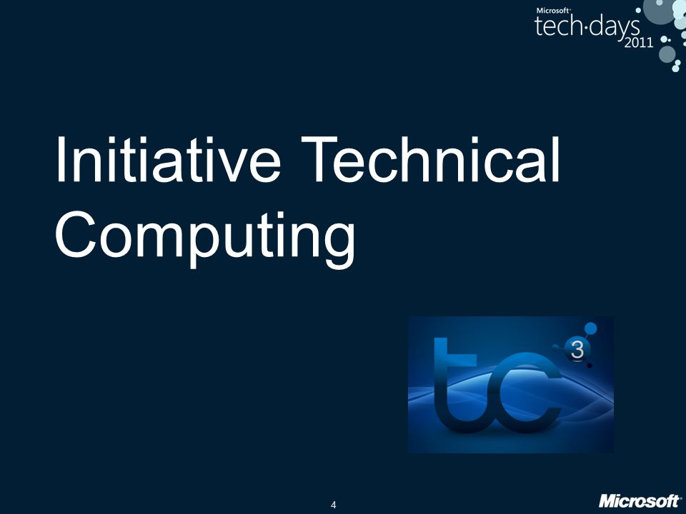Initiative Technical Computing