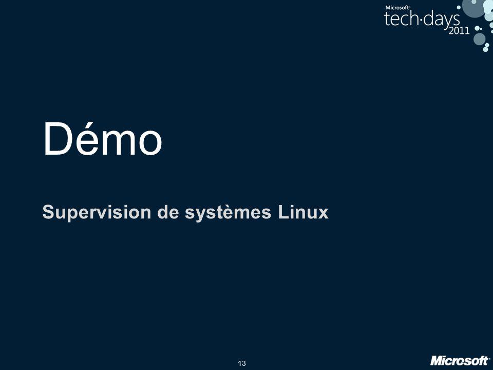 Supervision de systèmes Linux