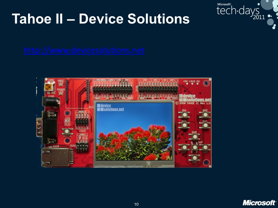 Tahoe II – Device Solutions