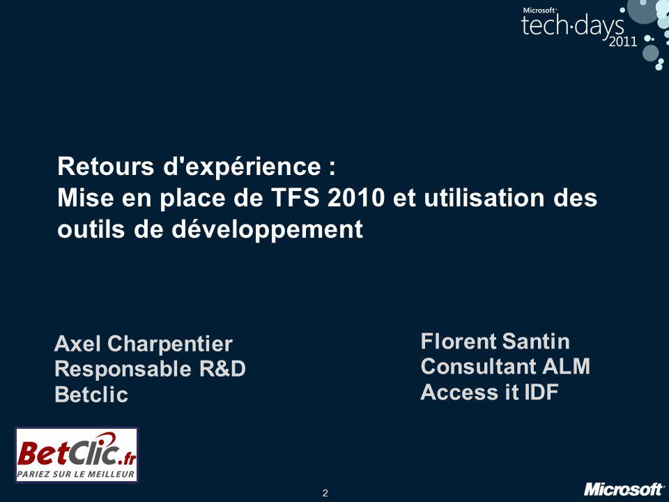 Axel Charpentier Responsable R&D Betclic