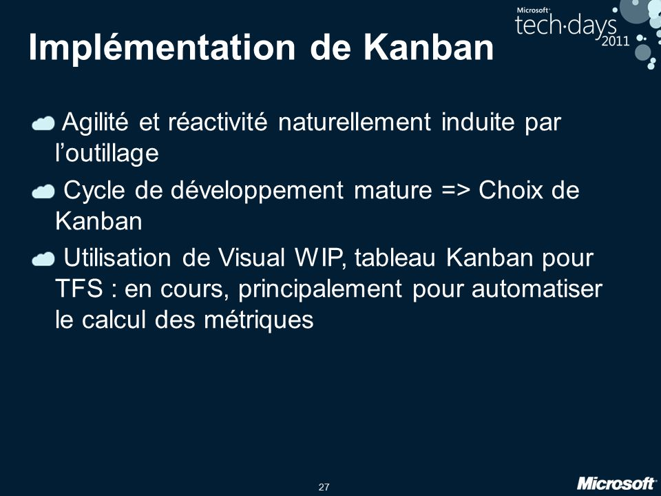Implémentation de Kanban