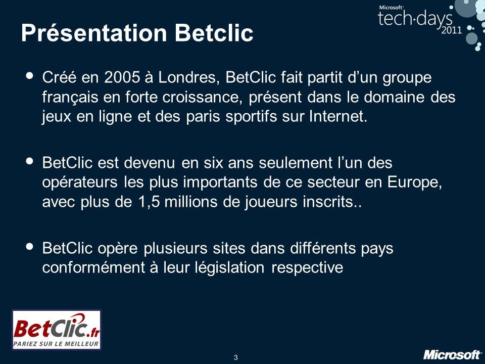 Présentation Betclic