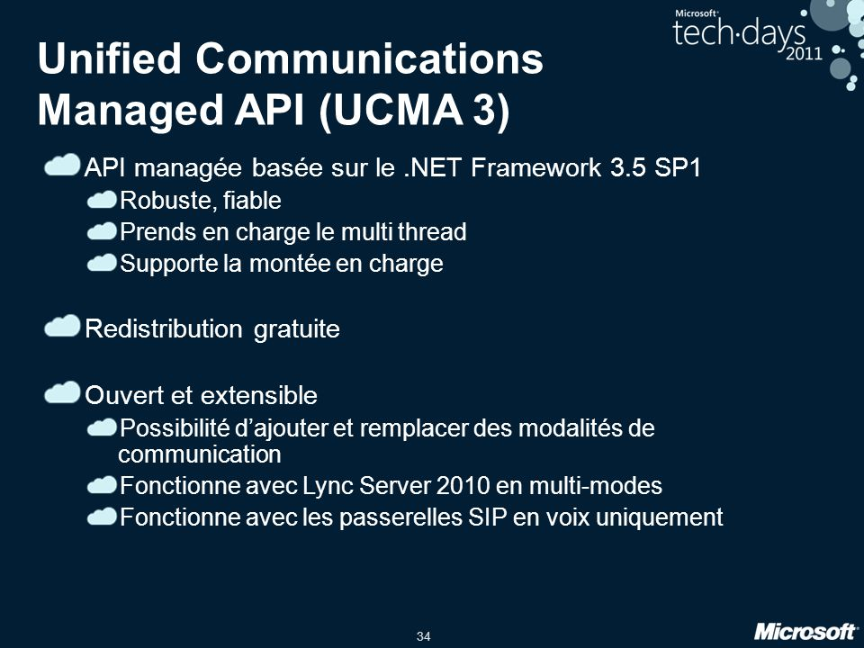Unified Communications Managed API (UCMA 3)