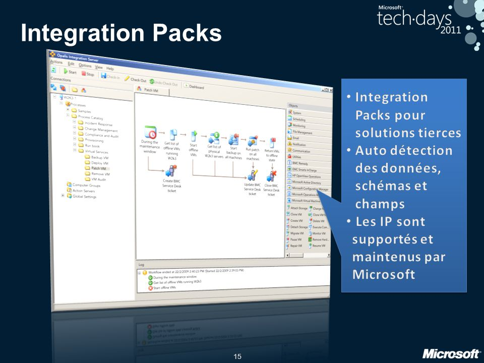 Integration Packs Integration Packs pour solutions tierces