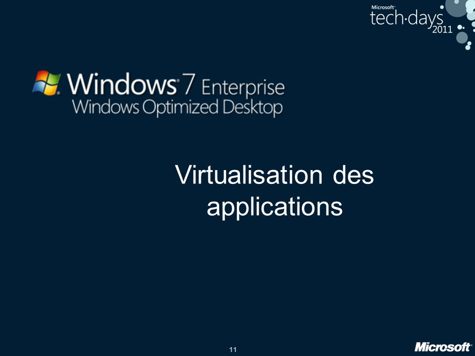 Virtualisation des applications