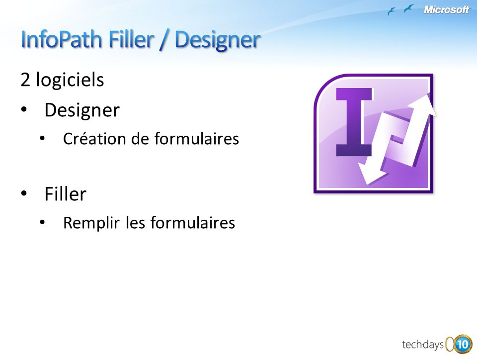 InfoPath Filler / Designer