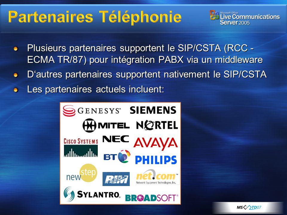 Partenaires Téléphonie