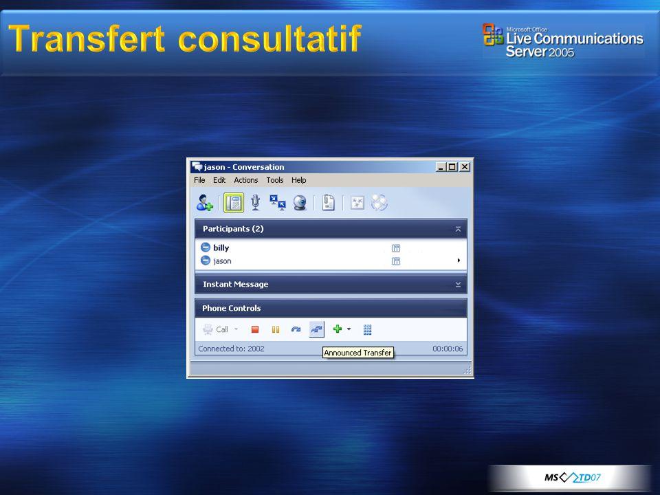 Transfert consultatif