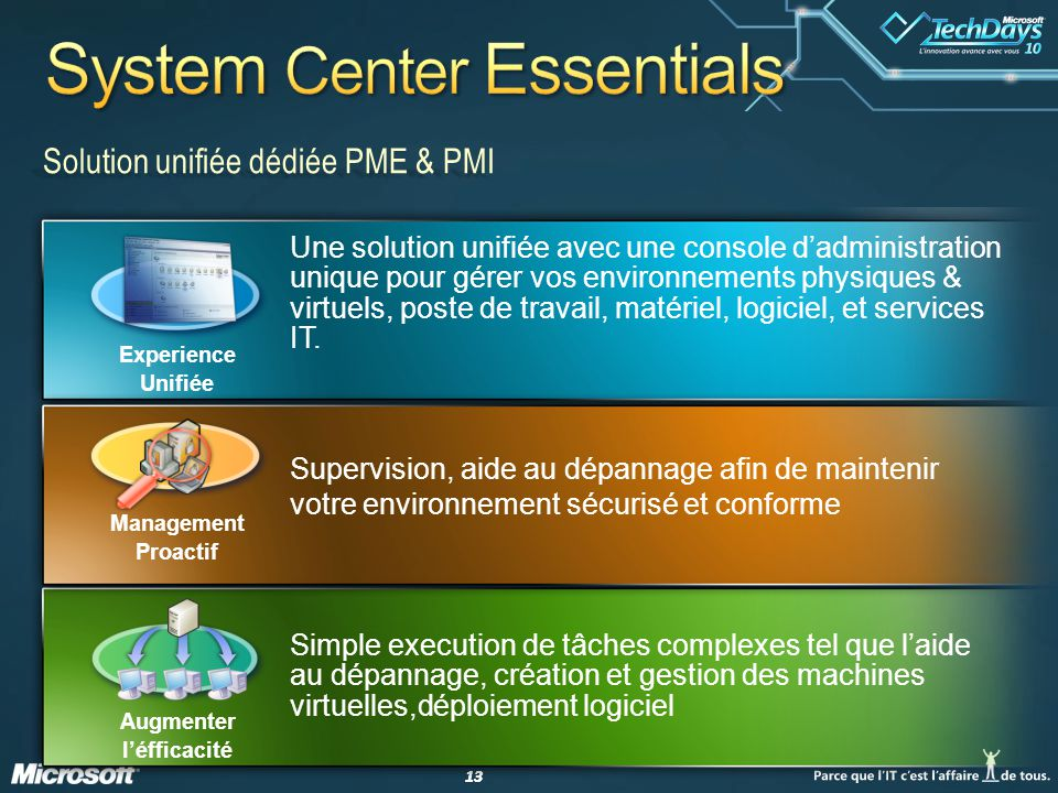 System Center Essentials