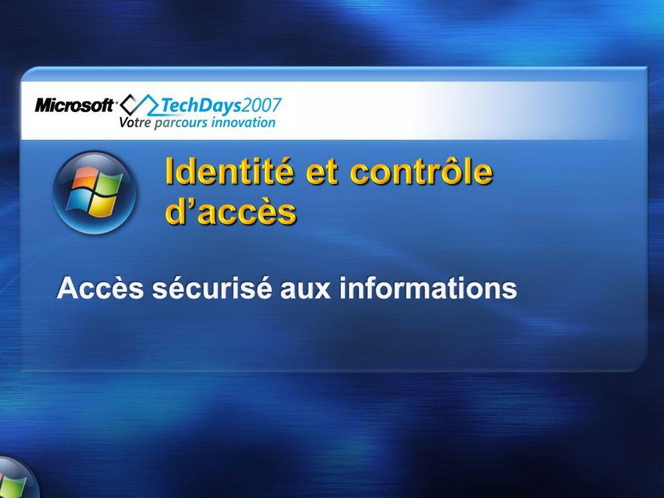 Identité et contrôle d'accès
