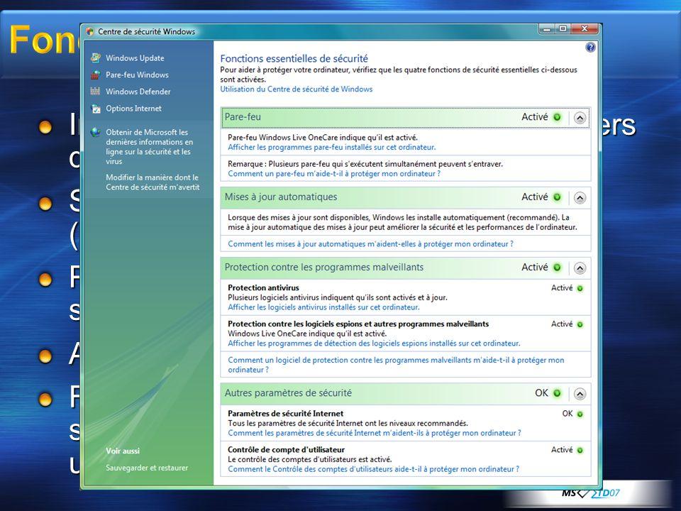 Fondamentaux Intégrité du code pour protéger les fichiers de l'OS