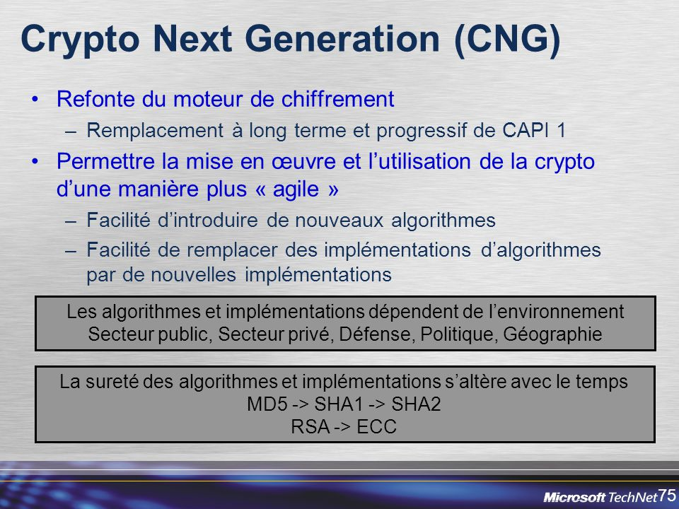 Crypto Next Generation (CNG)