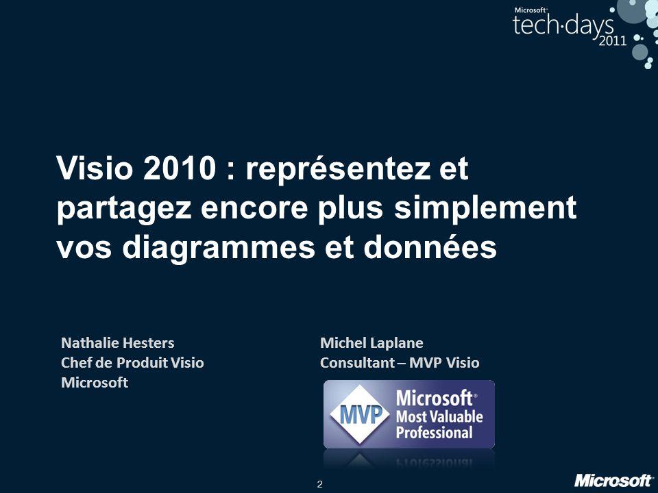 Visio 2010 : représentez et partagez encore plus simplement vos diagrammes et données