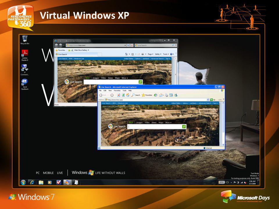 Virtual Windows XP Image virtuelle VHD de Windows XP pré-configurée