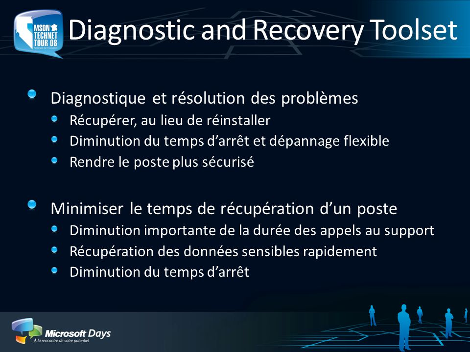 Diagnostic and Recovery Toolset