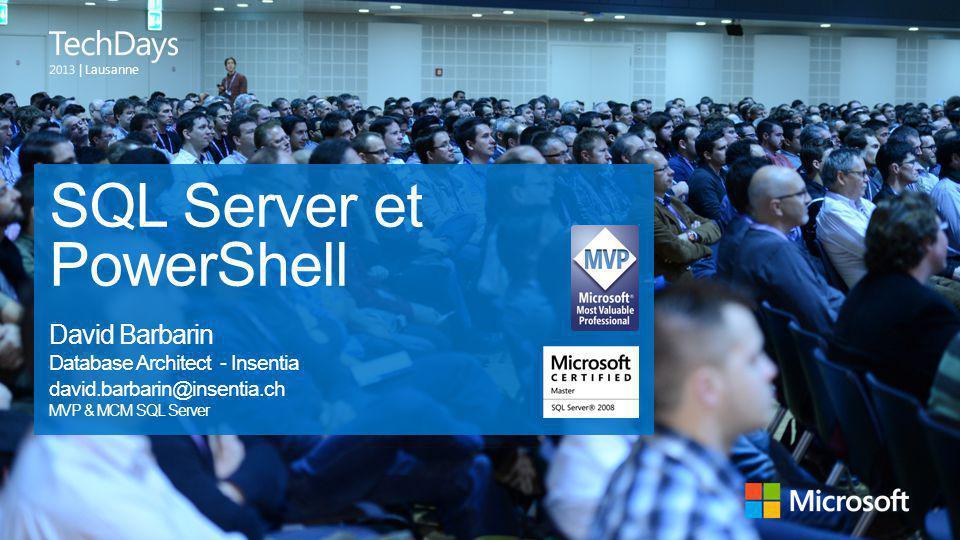 SQL Server et PowerShell
