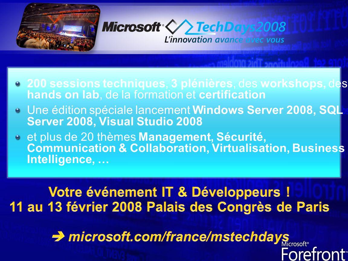 Votre événement IT & Développeurs !