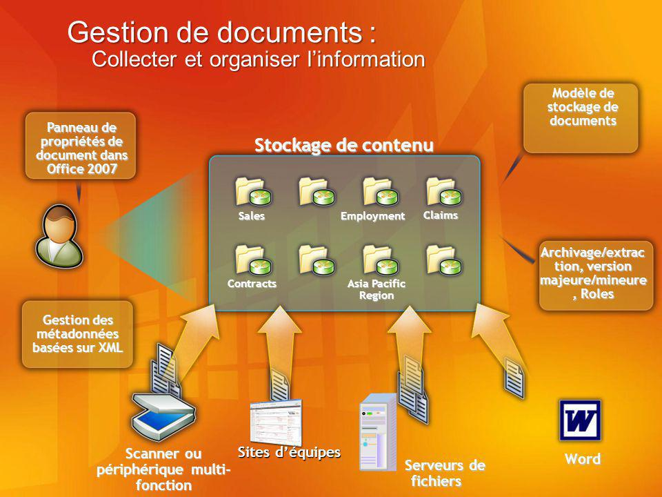 Gestion de documents : Collecter et organiser l'information