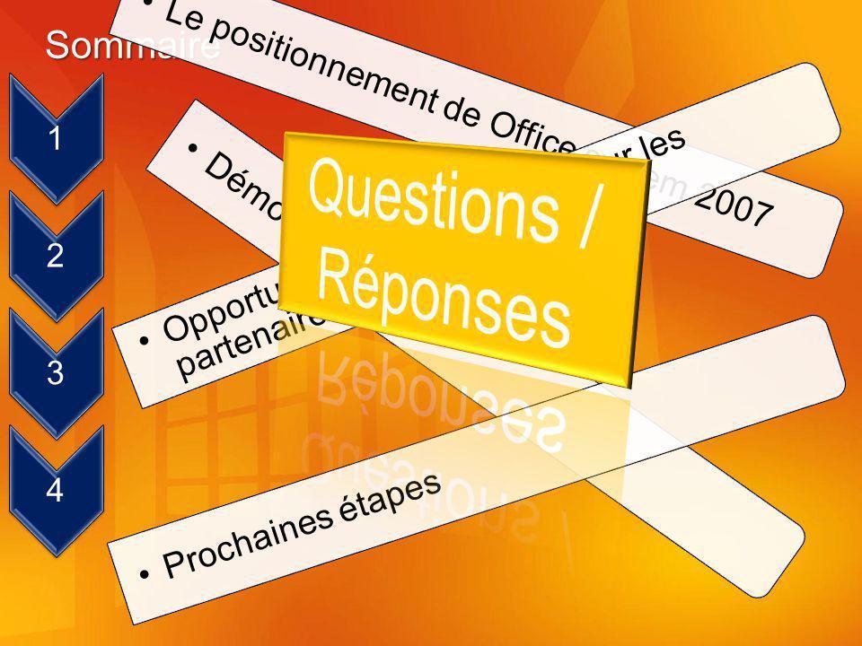 Questions / Réponses Sommaire 1