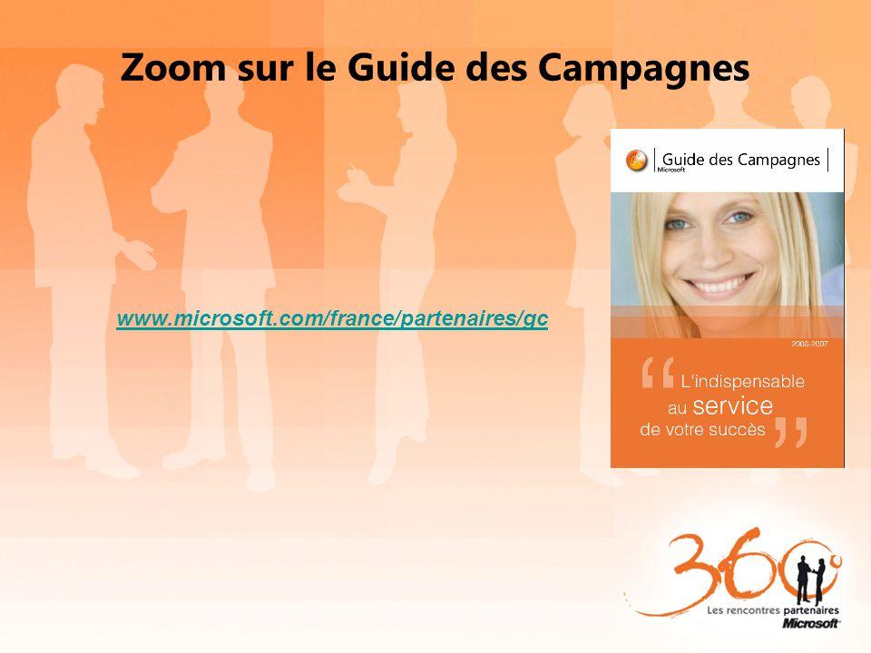 Zoom sur le Guide des Campagnes