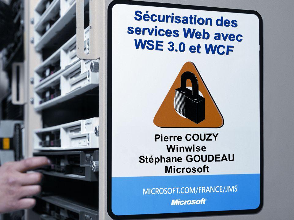 Sécurisation des services Web avec WSE 3.0 et WCF