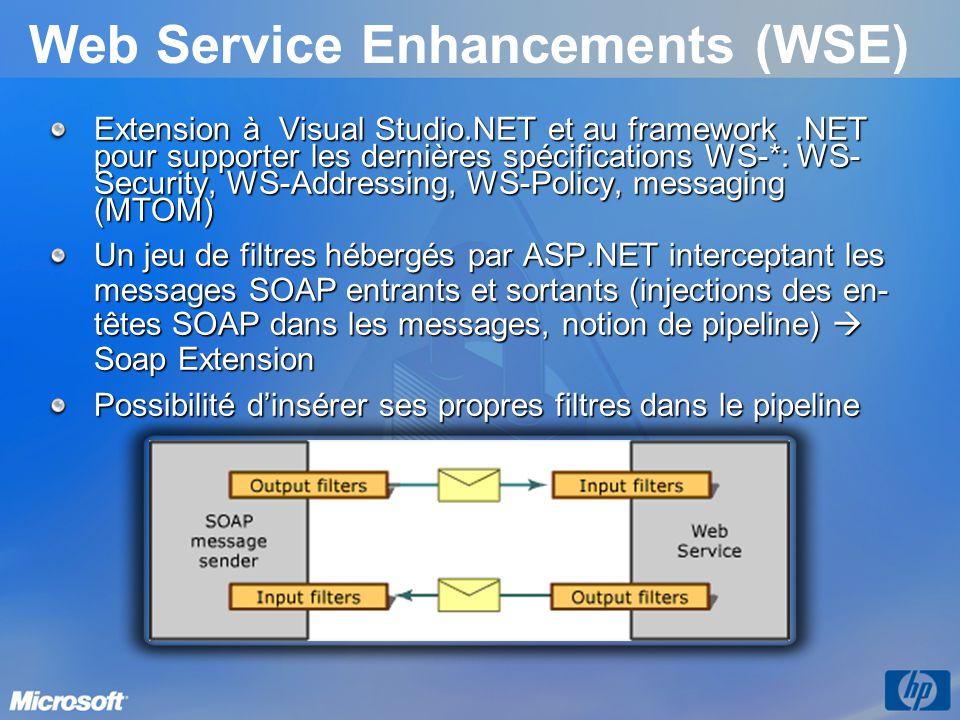 Web Service Enhancements (WSE)