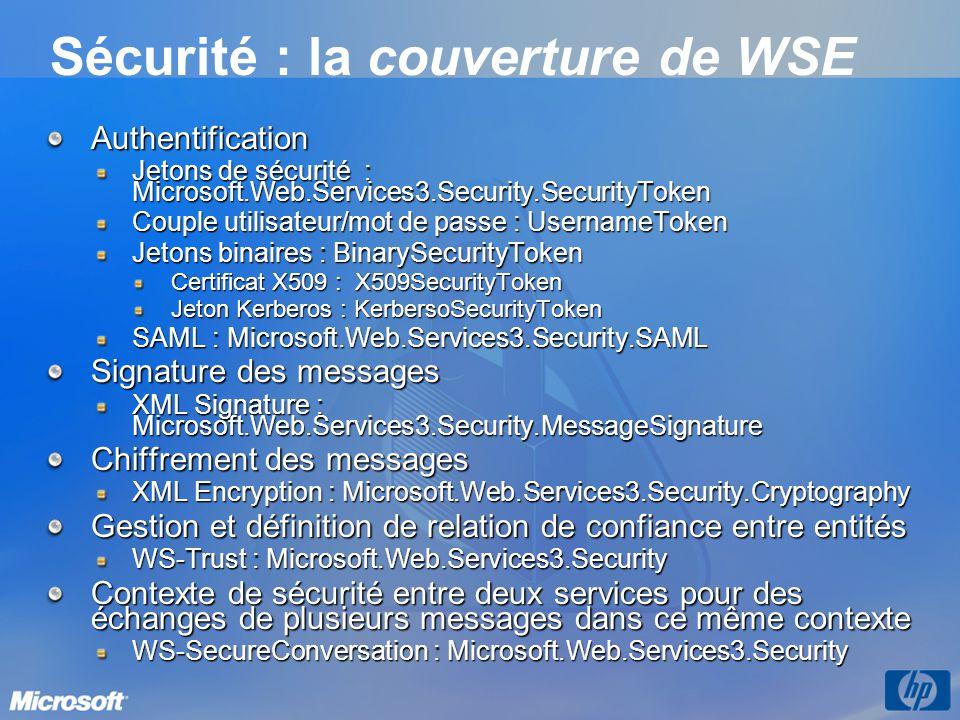 Sécurité : la couverture de WSE
