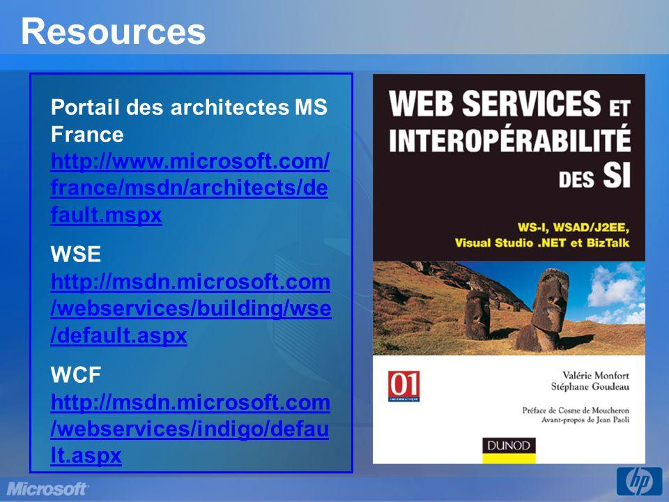 3/31/2017 9:56 PM Resources. Portail des architectes MS France http://www.microsoft.com/france/msdn/architects/default.mspx.