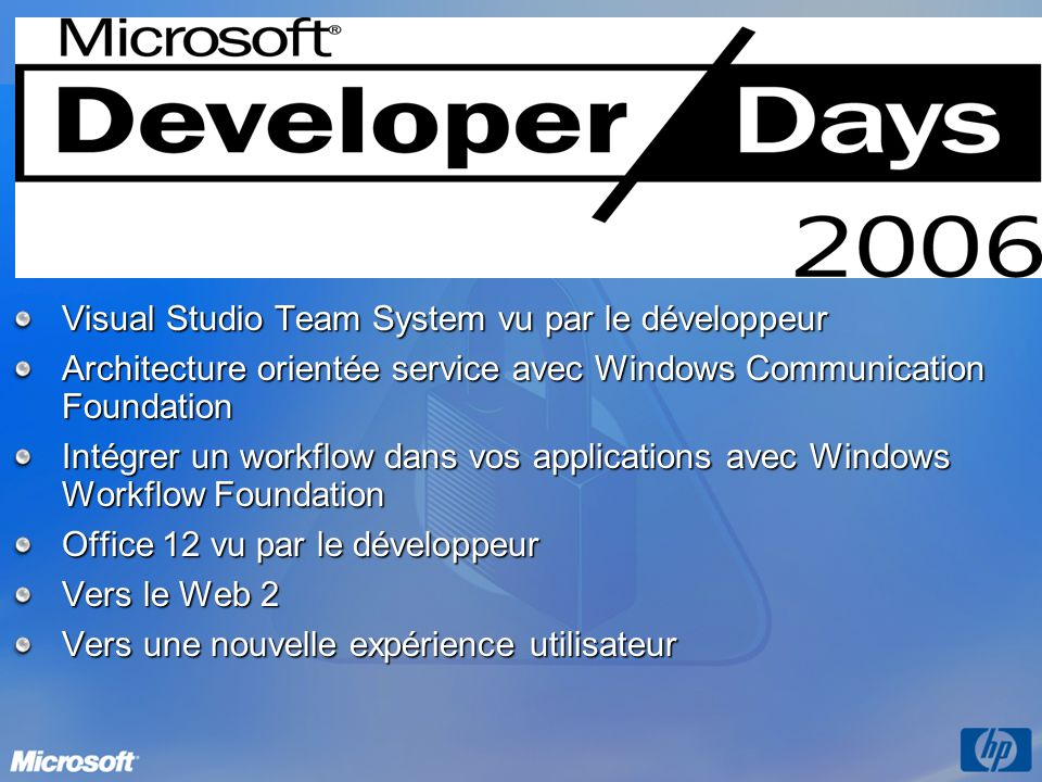 Les dates Visual Studio Team System vu par le développeur