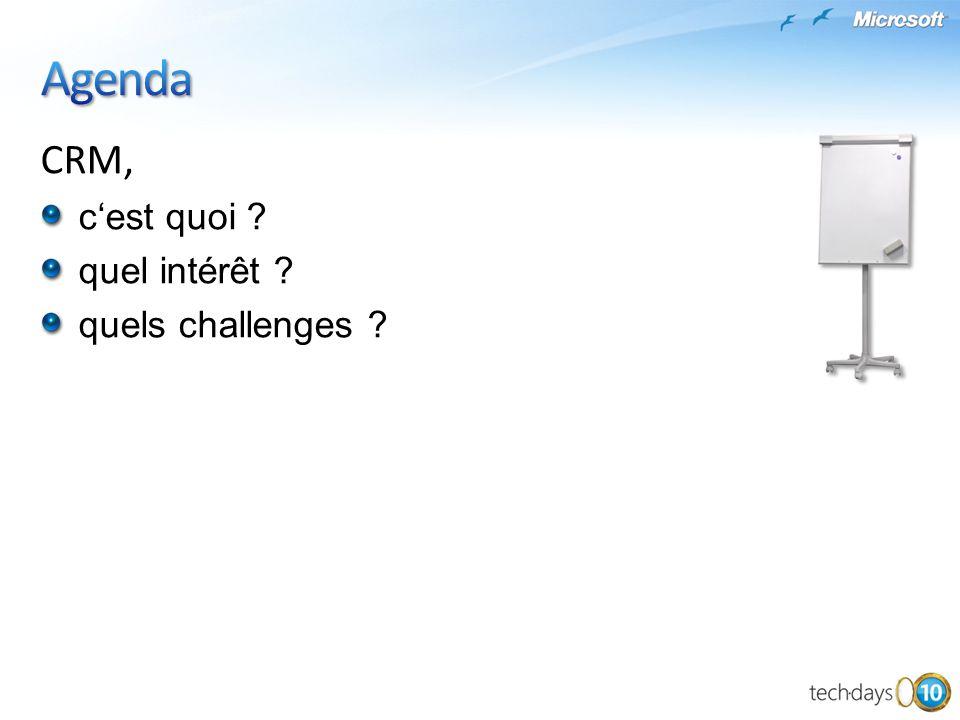 Agenda CRM, c'est quoi quel intérêt quels challenges