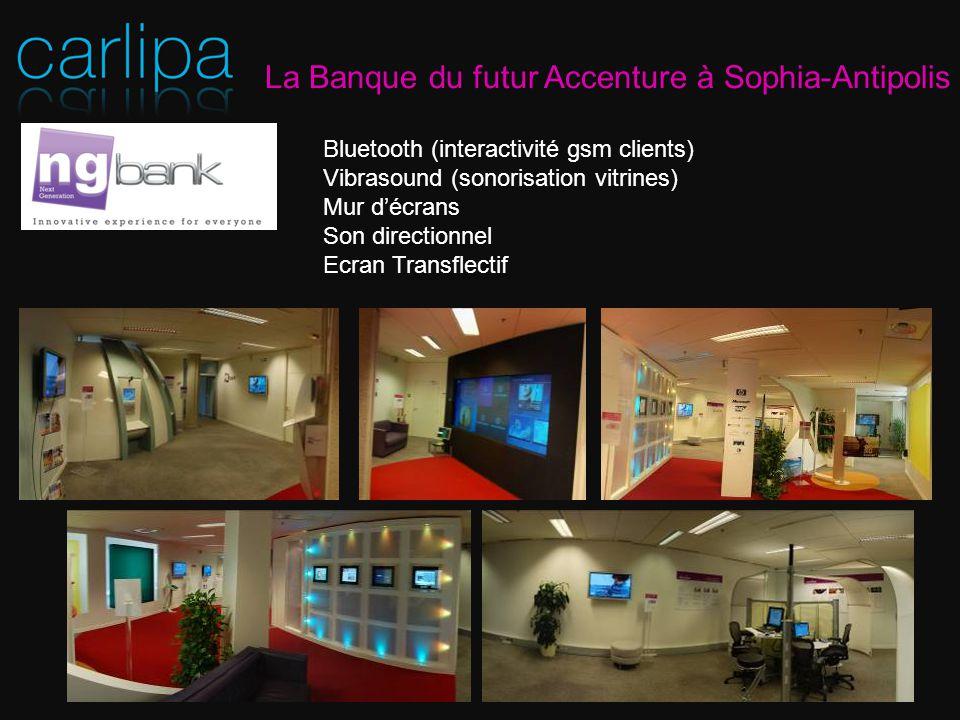 La Banque du futur Accenture à Sophia-Antipolis