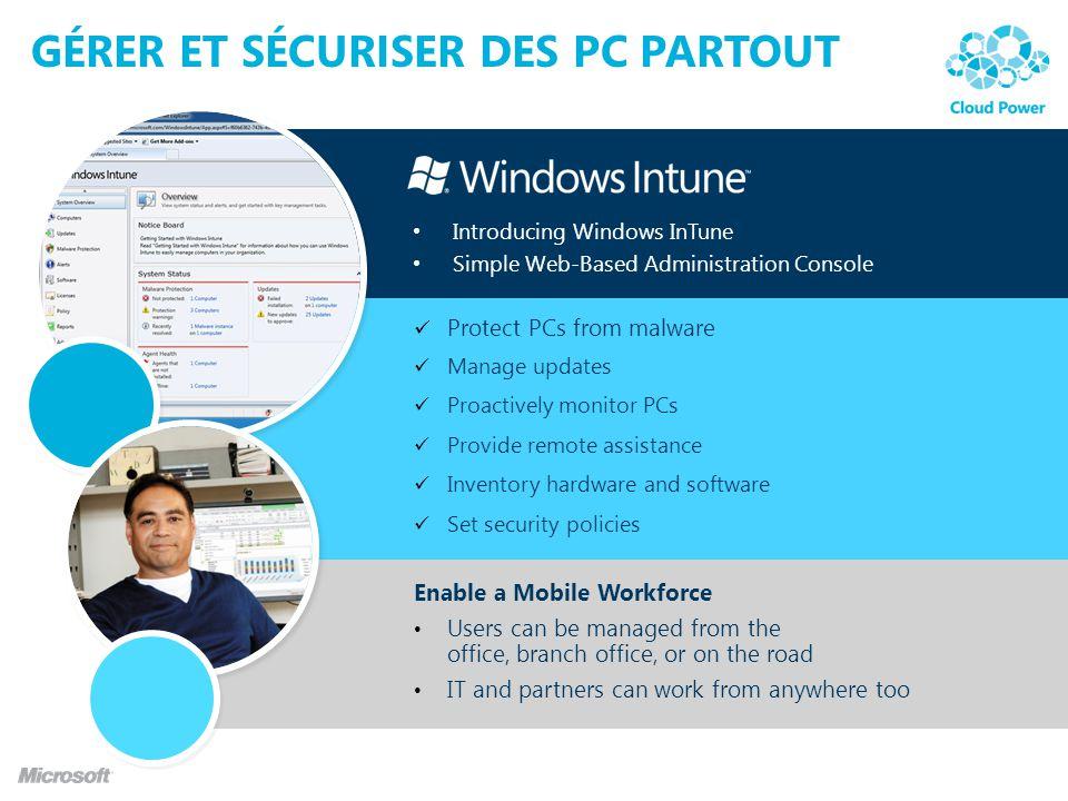 Gérer et sécuriser des PC partout