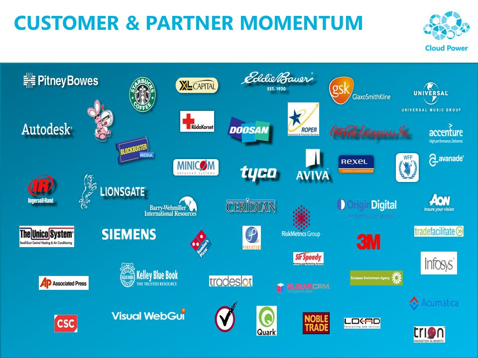 Customer & Partner Momentum