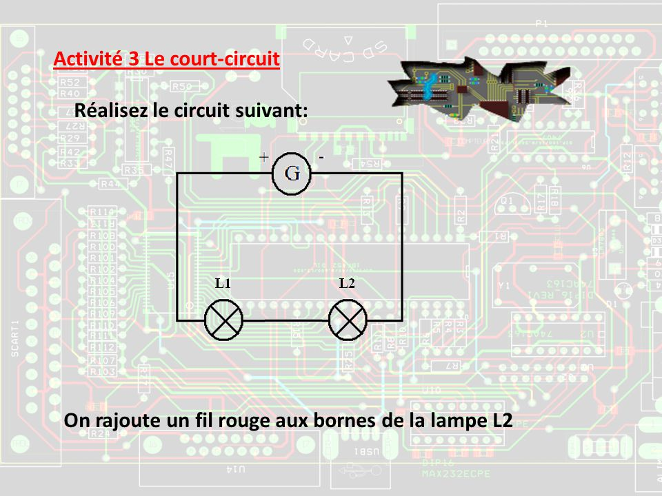 Activité 3 Le court-circuit