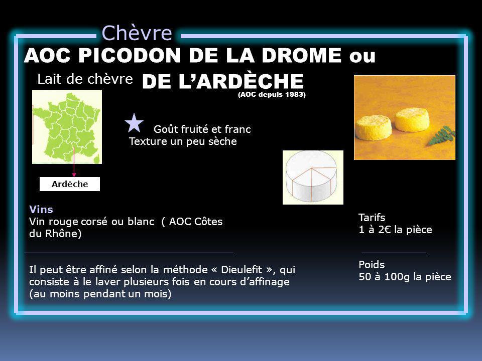 AOC PICODON DE LA DROME ou DE L'ARDÈCHE