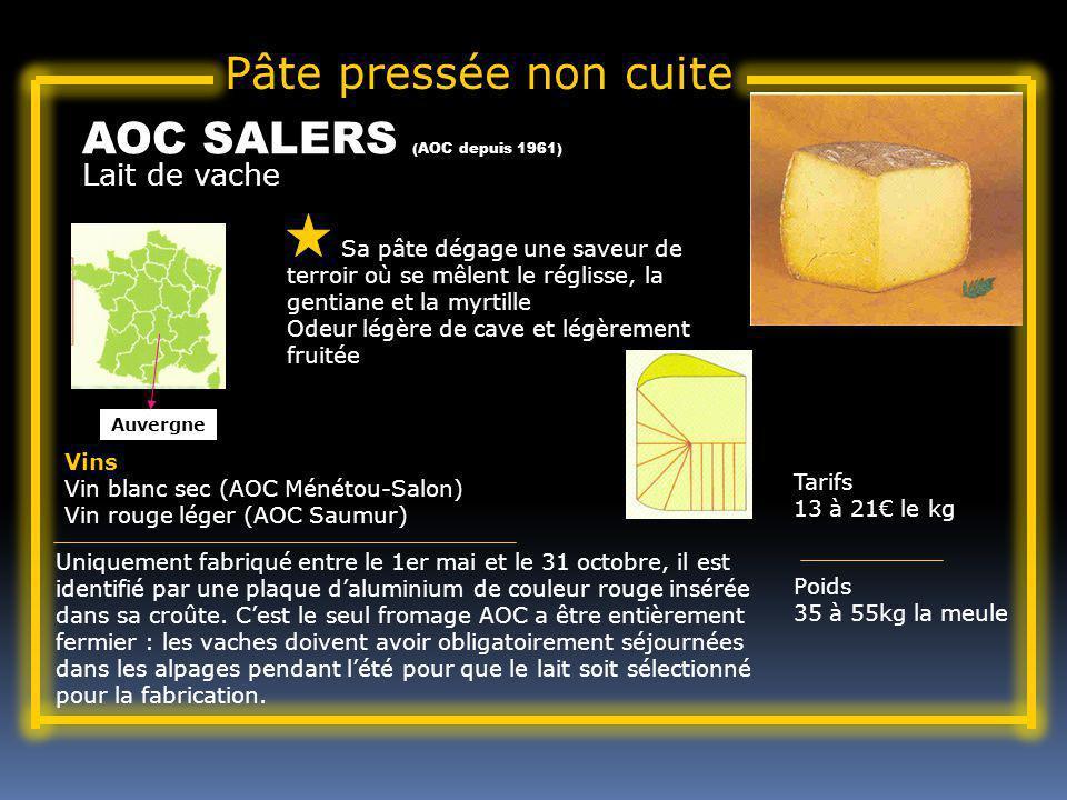 AOC SALERS (AOC depuis 1961)