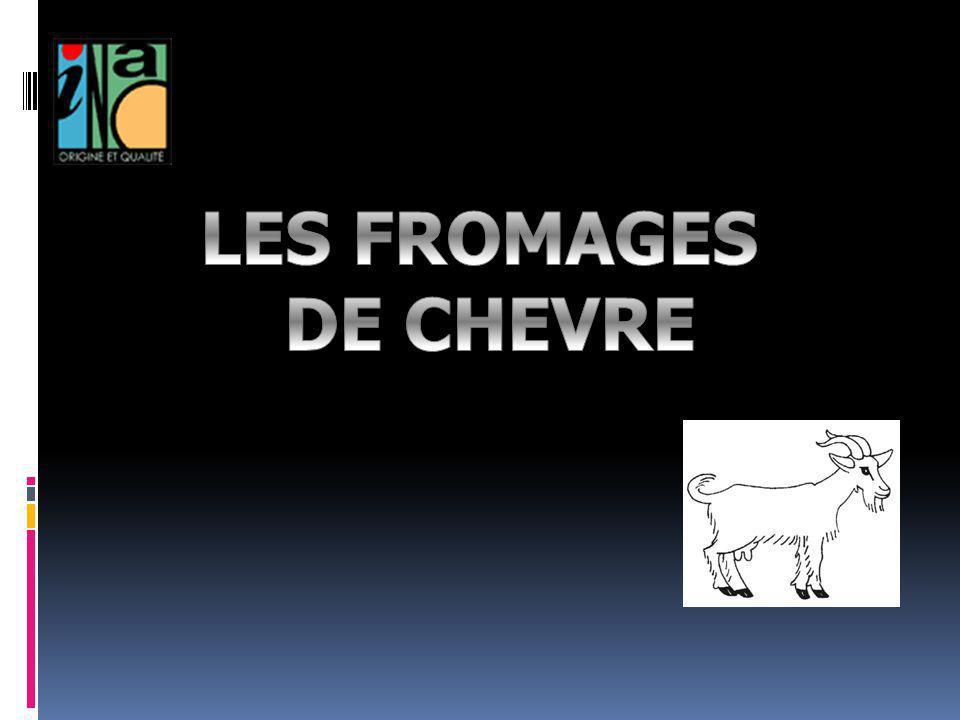 LES FROMAGES DE CHEVRE