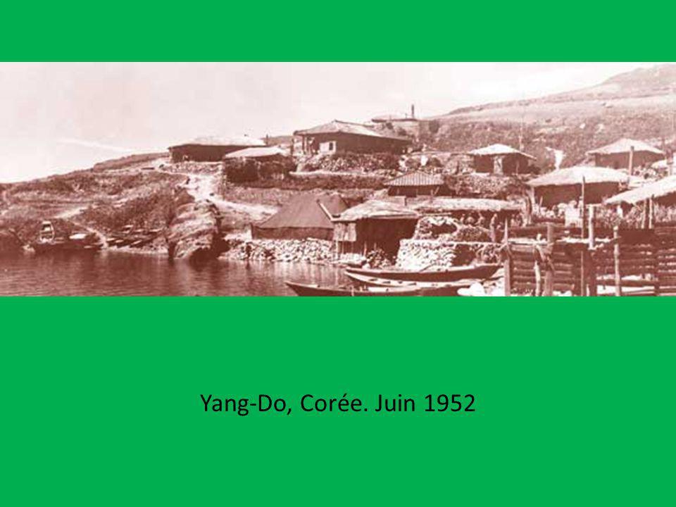 Yang-Do, Corée. Juin 1952