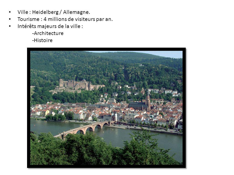 Ville : Heidelberg / Allemagne.