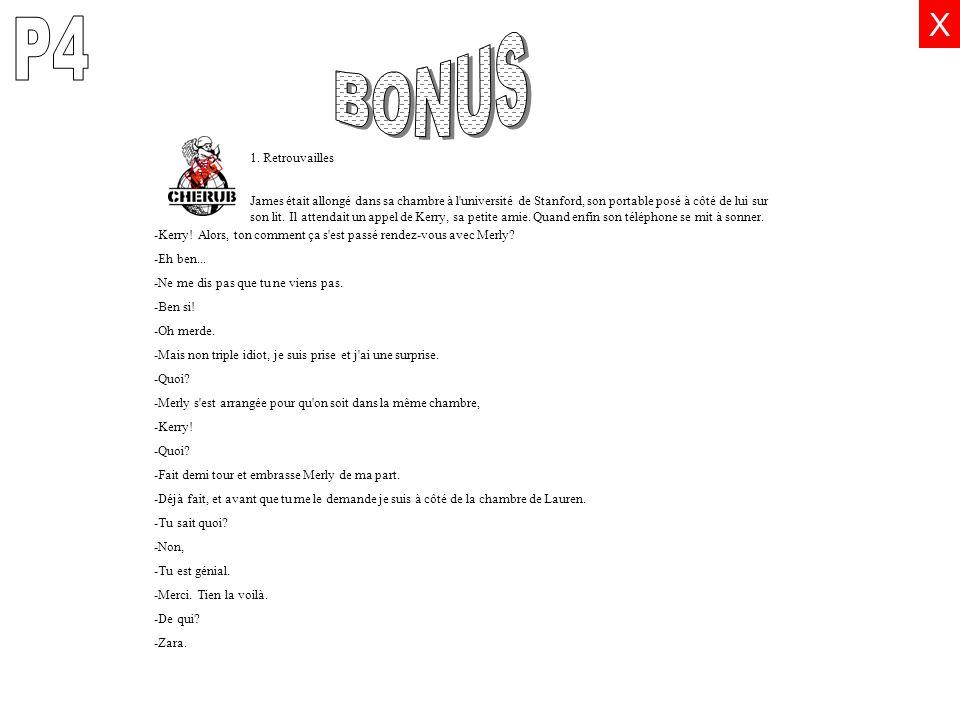 P4 BONUS E X 1. Retrouvailles