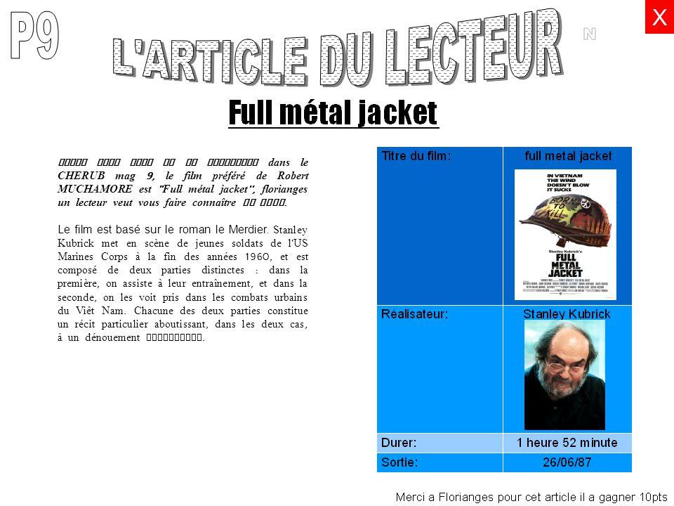 L ARTICLE DU LECTEUR P9 N X