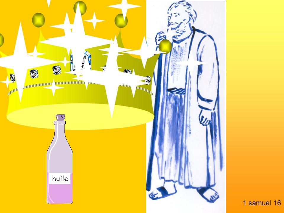 huile 1 samuel 16