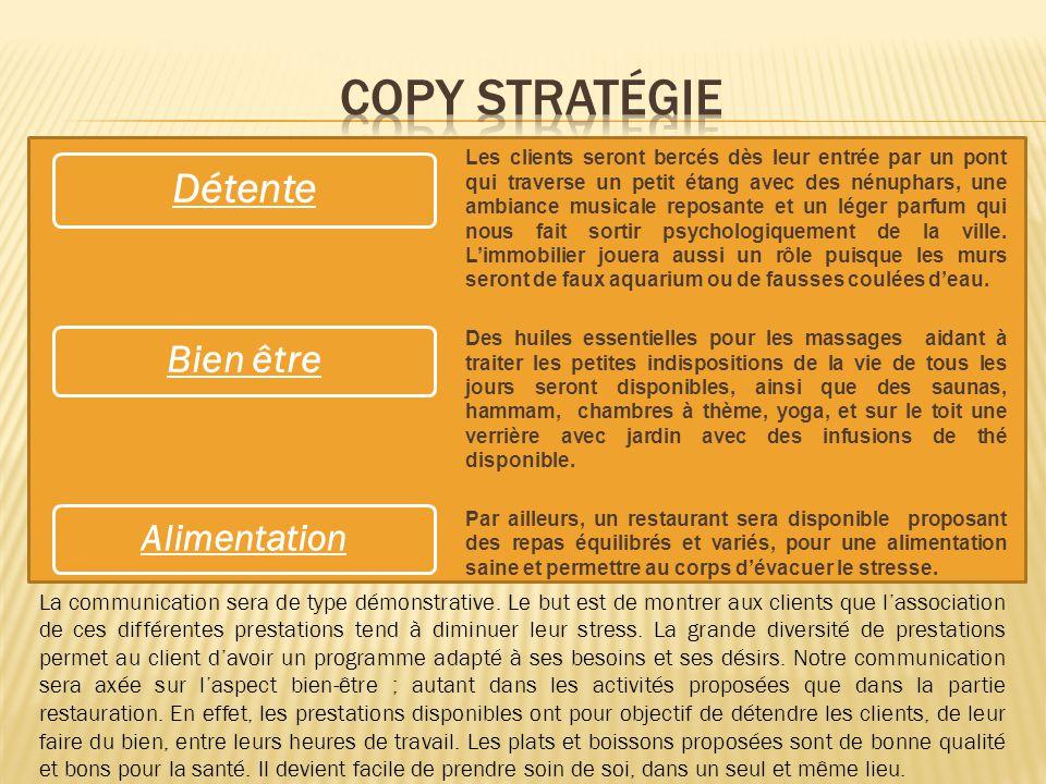 Copy Stratégie Détente Bien être Alimentation
