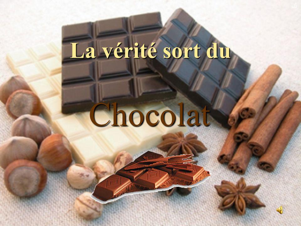 ﻙ La vérité sort du Chocolat