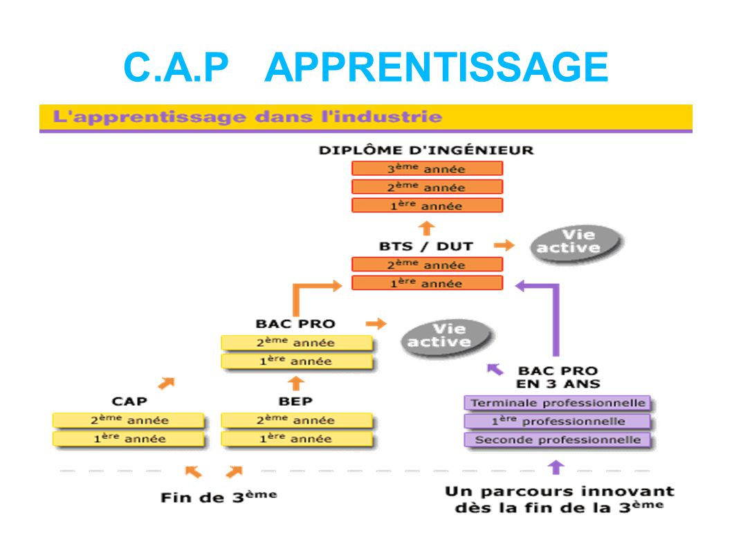 C.A.P APPRENTISSAGE