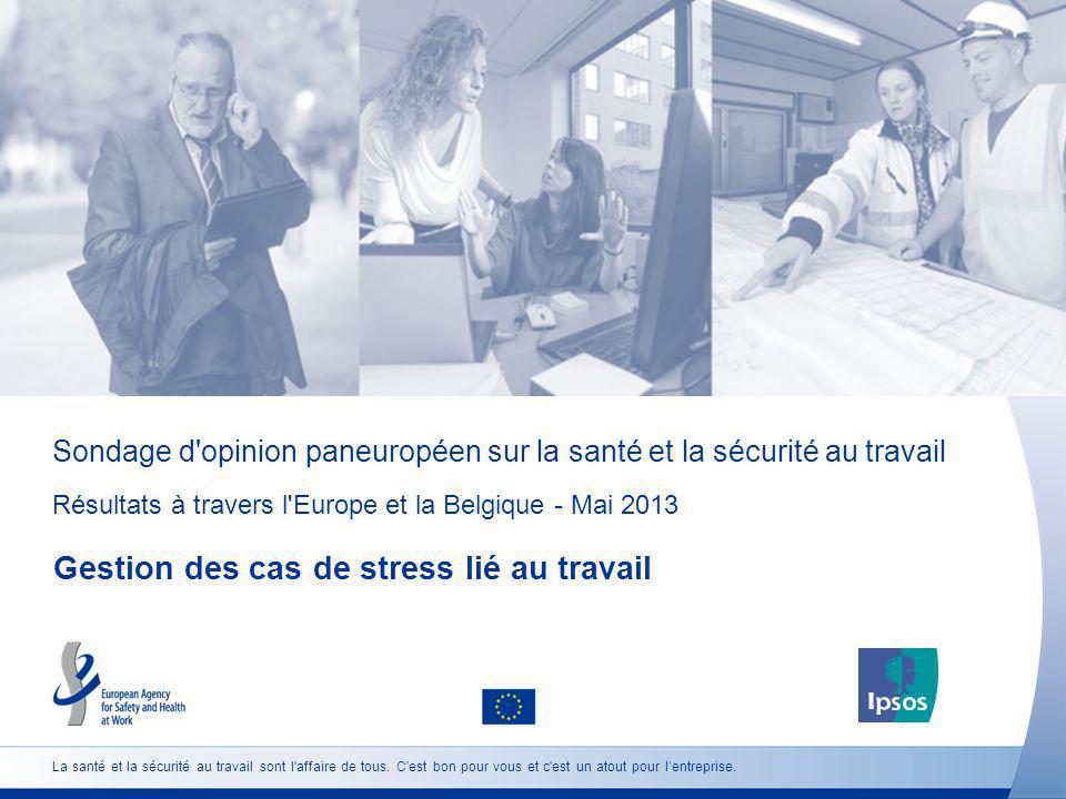 Sondage d opinion paneuropéen sur la santé et la sécurité au travail