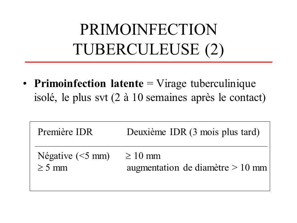 PRIMOINFECTION TUBERCULEUSE (2)